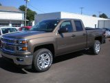 2014 Brownstone Metallic Chevrolet Silverado 1500 LT Double Cab 4x4 #86037368