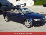 2004 Moro Blue Pearl Effect Audi A4 1.8T Cabriolet #86037111