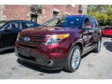 2011 Bordeaux Reserve Red Metallic Ford Explorer Limited 4WD #86037157