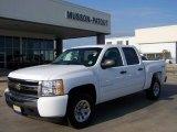 2009 Summit White Chevrolet Silverado 1500 LT Crew Cab 4x4 #8585198