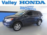 2010 Royal Blue Pearl Honda CR-V EX AWD #86036998