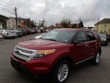 2014 Ruby Red Ford Explorer XLT 4WD #86037288