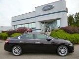 2011 Crimson Black Nissan Maxima 3.5 SV Premium #86037019