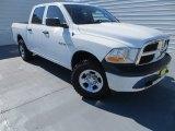 2010 Stone White Dodge Ram 1500 ST Crew Cab 4x4 #86037129