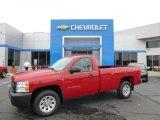 2013 Victory Red Chevrolet Silverado 1500 Work Truck Regular Cab #86037068