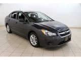 2012 Dark Gray Metallic Subaru Impreza 2.0i Premium 4 Door #86037221