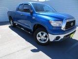 2008 Blue Streak Metallic Toyota Tundra Double Cab 4x4 #86037119