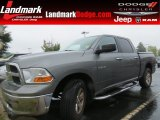 2010 Mineral Gray Metallic Dodge Ram 1500 SLT Crew Cab #86069139
