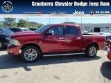 2014 Deep Cherry Red Crystal Pearl Ram 1500 Laramie Longhorn Crew Cab 4x4 #86069050