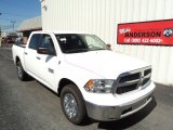 2014 Bright White Ram 1500 SLT Crew Cab 4x4 #86069573