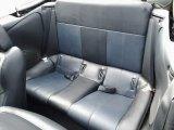 2003 Mitsubishi Eclipse Spyder GTS Rear Seat