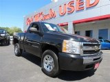 2009 Black Chevrolet Silverado 1500 Regular Cab #86069003