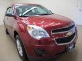 2010 Cardinal Red Metallic Chevrolet Equinox LS #86068916