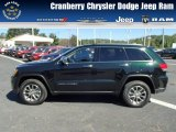 2014 Black Forest Green Pearl Jeep Grand Cherokee Limited 4x4 #86069062