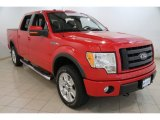 2010 Vermillion Red Ford F150 FX4 SuperCrew 4x4 #86069448