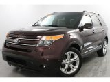 2011 Bordeaux Reserve Red Metallic Ford Explorer Limited 4WD #86068879