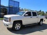 2014 White Diamond Tricoat Chevrolet Silverado 1500 LT Z71 Crew Cab 4x4 #86116241