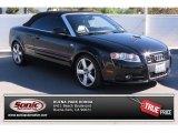 2008 Brilliant Black Audi A4 2.0T quattro Cabriolet #86116321