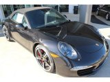 2014 Porsche 911 Basalt Black Metallic