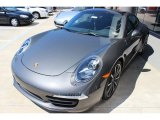 2014 Porsche 911 Agate Grey Metallic