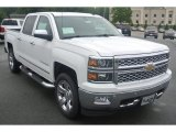 2014 Summit White Chevrolet Silverado 1500 LTZ Crew Cab 4x4 #86116547