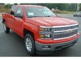 2014 Victory Red Chevrolet Silverado 1500 LT Crew Cab 4x4 #86116546