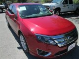 2010 Sangria Red Metallic Ford Fusion SEL V6 #86116215