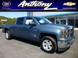 2014 Blue Granite Metallic Chevrolet Silverado 1500 LT Z71 Crew Cab 4x4 #86116614