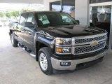 2014 Black Chevrolet Silverado 1500 LT Crew Cab 4x4 #86116684