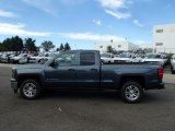 2014 Blue Granite Metallic Chevrolet Silverado 1500 LT Double Cab 4x4 #86116666