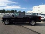 2014 Black Chevrolet Silverado 1500 LT Double Cab 4x4 #86116664