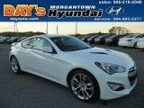 2013 White Satin Pearl Hyundai Genesis Coupe 3.8 Track #86116574