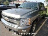 2008 Graystone Metallic Chevrolet Silverado 1500 LT Extended Cab 4x4 #86158631