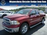 2014 Deep Cherry Red Crystal Pearl Ram 1500 Big Horn Quad Cab 4x4 #86158450