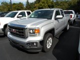 2014 Quicksilver Metallic GMC Sierra 1500 SLE Double Cab 4x4 #86158624