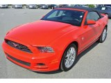 2013 Race Red Ford Mustang V6 Premium Convertible #86158706