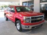 2014 Victory Red Chevrolet Silverado 1500 LT Z71 Crew Cab 4x4 #86158796