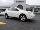 2013 Pearl White Nissan Rogue S #86158433