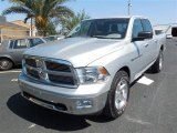 2011 Bright Silver Metallic Dodge Ram 1500 Lone Star Crew Cab 4x4 #86158253
