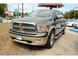 2011 Sagebrush Pearl Dodge Ram 1500 Laramie Longhorn Crew Cab 4x4 #86158603