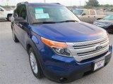 2013 Deep Impact Blue Metallic Ford Explorer XLT #86158242