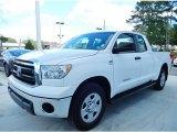 2010 Super White Toyota Tundra Double Cab #86158290