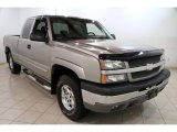 2003 Light Pewter Metallic Chevrolet Silverado 1500 LT Extended Cab 4x4 #86158651