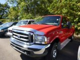 2002 Red Clearcoat Ford F250 Super Duty XLT SuperCab 4x4 #86158385