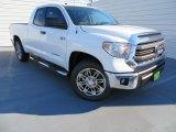 2014 Super White Toyota Tundra TSS Double Cab #86158478