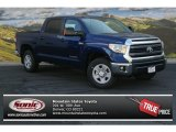 2014 Blue Ribbon Metallic Toyota Tundra SR5 Crewmax 4x4 #86158129