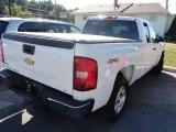 2008 Summit White Chevrolet Silverado 1500 LT Extended Cab 4x4 #86158632