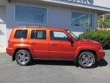 2010 Jeep Patriot Sunburst Orange Pearl