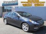 2013 Pacific Blue Pearl Hyundai Sonata Limited #86158122