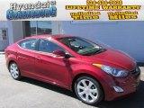 2013 Red Hyundai Elantra Limited #86158118